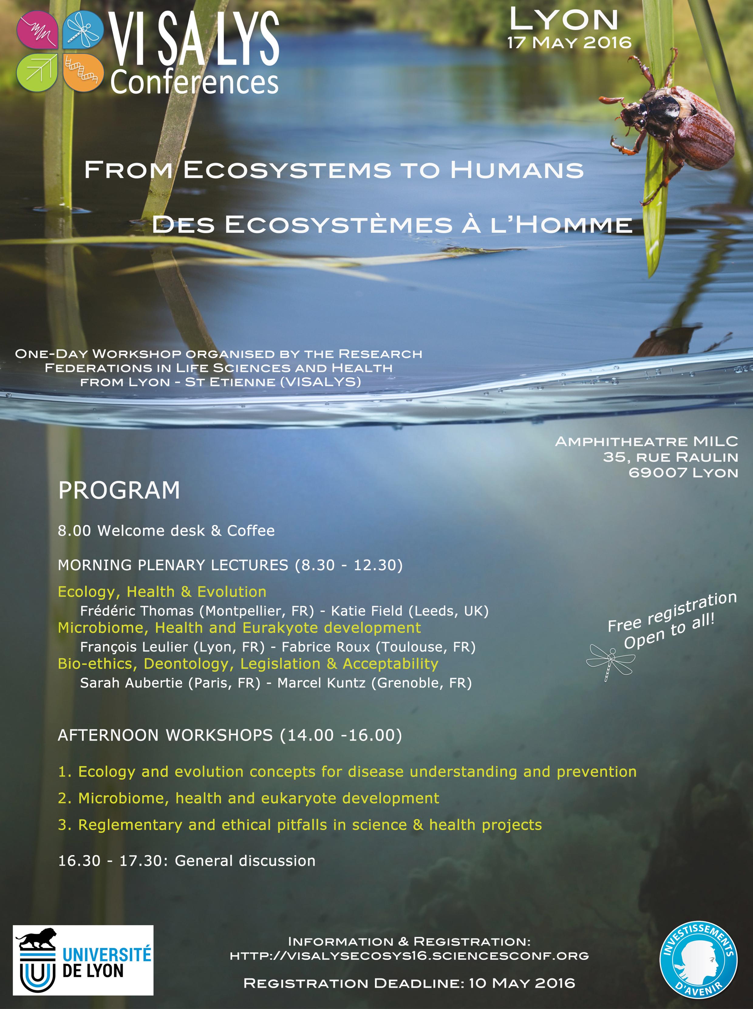 Affiche Ecosystemes
